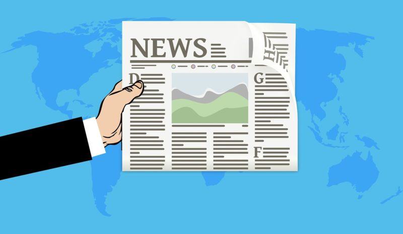 【ミニマリスト】新聞紙はとらない。情報はネット上に転がってる